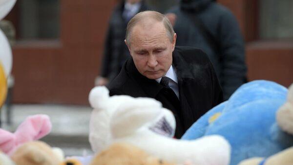 Tragédie de Kemerovo: Vladimir Poutine se rend sur place - Sputnik France