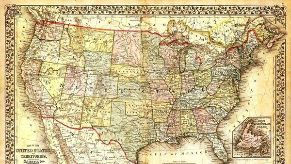 США на карте - Sputnik France