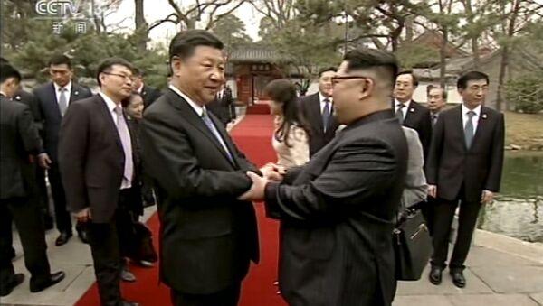 La première visite à l'étranger de Kim Jong-un - Sputnik France