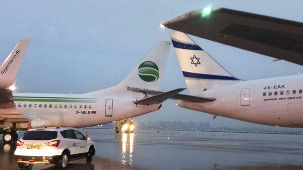 Aéroport de Tel-Aviv-David Ben Gourion - Sputnik France