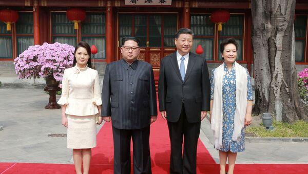 La récente visite de Kim Jong-un en Chine - Sputnik France