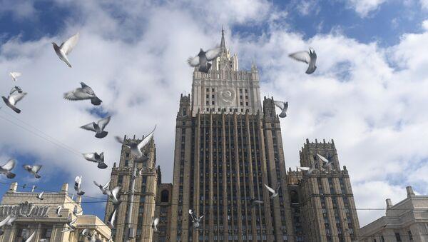Le bâtiment du ministère des Affaires étrangères à Moscou - Sputnik France