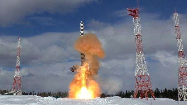 missile intercontinental russe Sarmat - Sputnik France