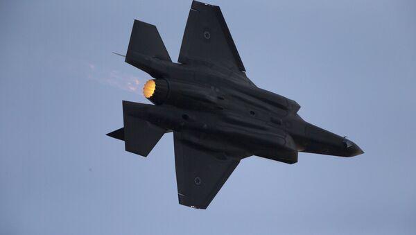 Un F-35 israélien - Sputnik France