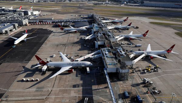 A general view of Terminal 3 at Heathrow Airport near London, Britain October 11, 2016 - Sputnik France