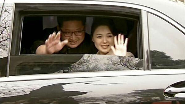 Kim Jong-un et Ri Sol-ju - Sputnik France