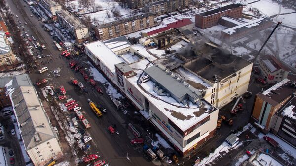 Incendie au centre commercial à Kemerovo - Sputnik France