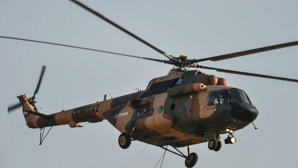 Un hélicoptère Mi-17 (image d'illustration) - Sputnik France