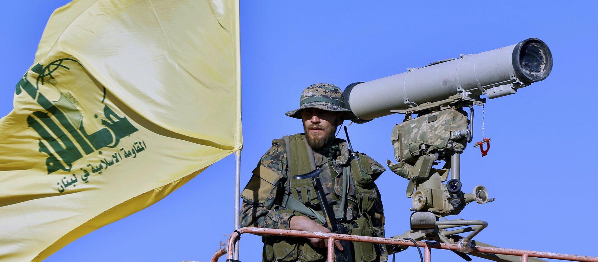 Membre du Hezbollah - Sputnik France, 1920, 19.05.2021