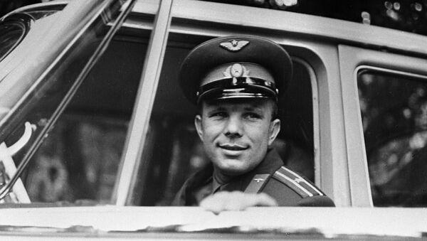 Первый в мире космонавт, Герой Советского Союза Юрий Гагарин. - Sputnik France