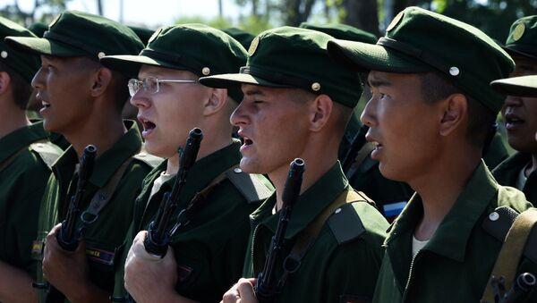 Les membres d'une brigade d'infanterie motorisée dans le territoire du Primorié - Sputnik France