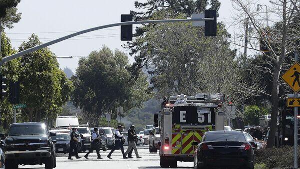 La police près du bureau de YouTube à San Bruno, en Californie - Sputnik France