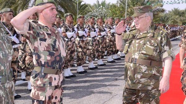 Ahmed Gaid Salah, le chef de l'armée algérienne - Sputnik France