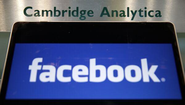 Affaire Facebook/Cambridge Analytica - Sputnik France