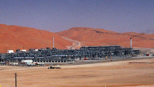 Une usine de Saudi Aramco - Sputnik France