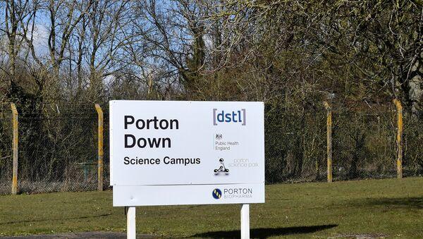 El centro científico de Porton Down, ubicado a ocho kilómetros de Salisbury, el Reino Unido - Sputnik France