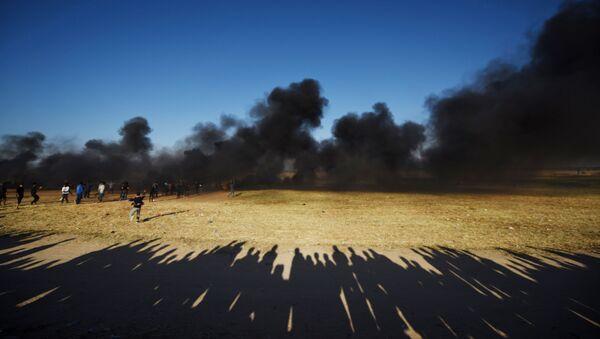 Manifestations à la frontière entre la bande de Gaza et Israël - Sputnik France