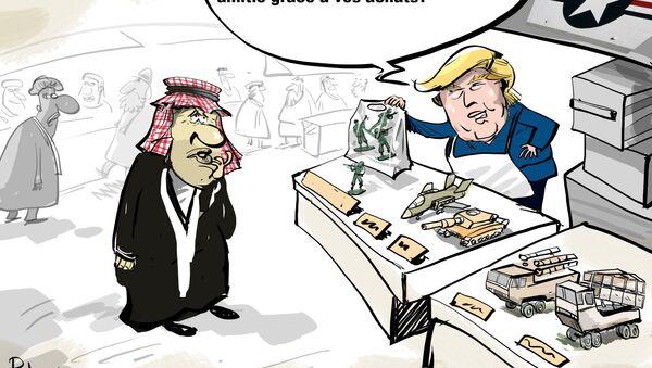 Trump veut monnayer la présence américaine en Syrie - Sputnik France