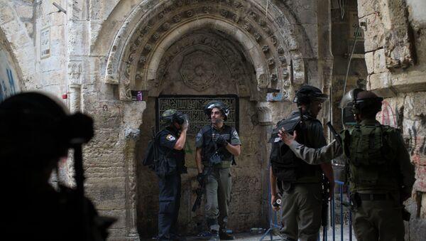 Policiers israéliens dans la vielle ville de Jérusalem - Sputnik France