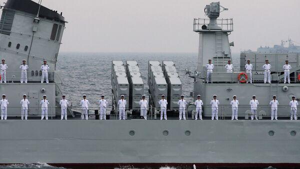 Officers of Chinese Naval Forces - Sputnik France