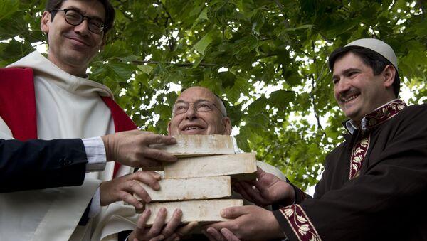 Le pasteur Gregor Hohberg, le rabbin Tovia Ben-Chorin et l'imam Kadir Sanci à Berlin - Sputnik France