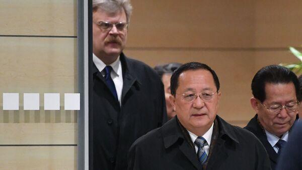Ri Yong-ho à Moscou - Sputnik France