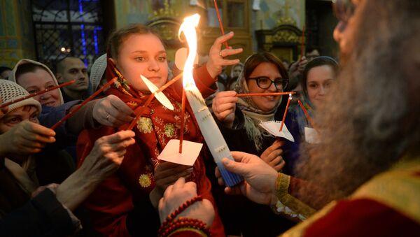 Célébration de Pâques en Russie - Sputnik France