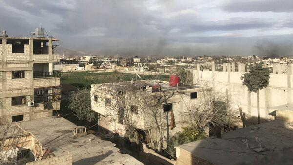 Situación en Guta Oriental, Siria - Sputnik France