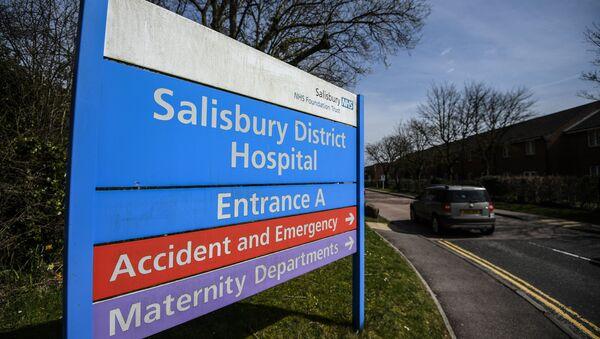 L'hôpital de Salisbury qui a accueilli Sergueï et Ioulia Skripal - Sputnik France