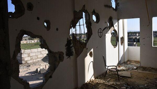 Ситуация в пригороде Дамаска - Sputnik France