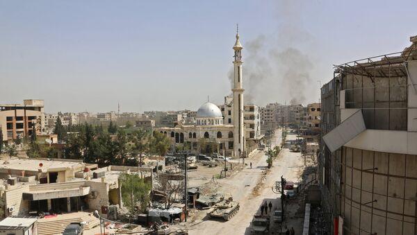Dans le Ghouta orientale - Sputnik France