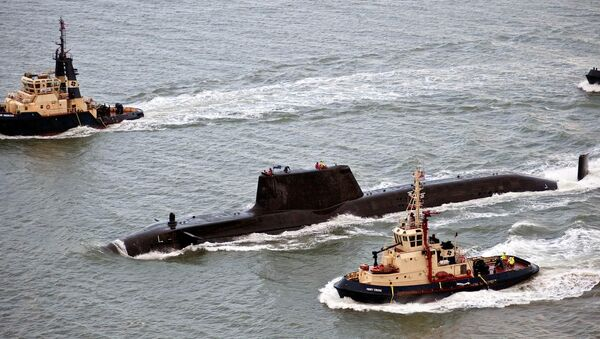 Le sous-marin britannique HMS Astute - Sputnik France