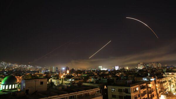 frappes des Etats-Unis et de leurs alliés contre la Syrie - Sputnik France
