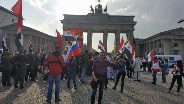 Rassemblement à Berlin - Sputnik France