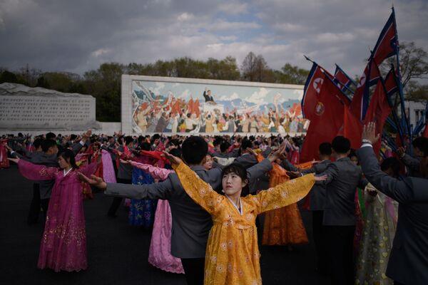 La journée du Soleil en Corée du Nord - Sputnik France