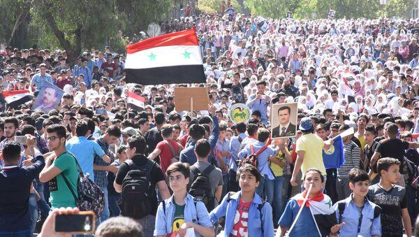 Les Syriens ont dit aux agresseurs: «Nous n'avons pas peur de vous» - Sputnik France