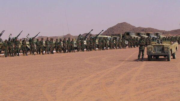 Polisario troops - Sputnik France