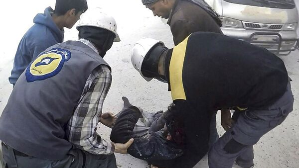 Les Casques blancs syriens (archive photo) - Sputnik France