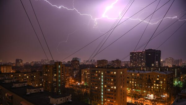 Orage à Moscou - Sputnik France