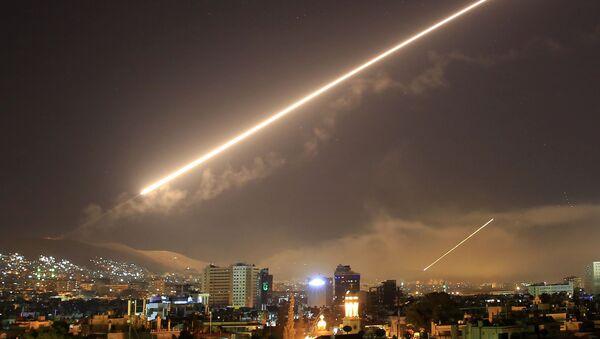 Frappe sur Damas - Sputnik France