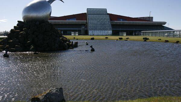 A general view of the exterior of Keflavik airport, Keflavik, Iceland - Sputnik France