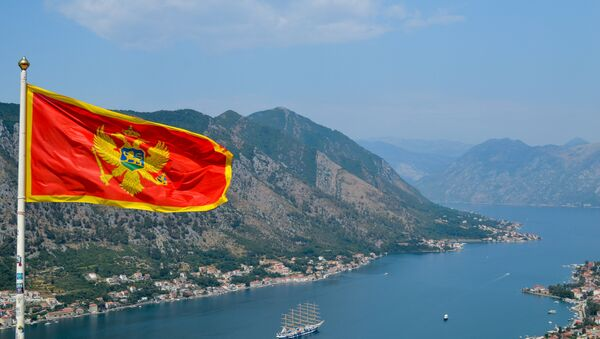 Le drapeau du Monténégro - Sputnik France