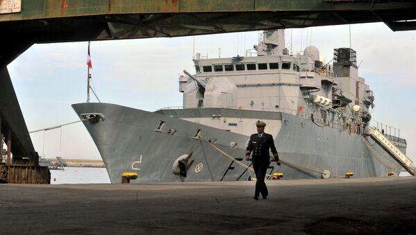 Un officier de la marine algérienne - Sputnik France