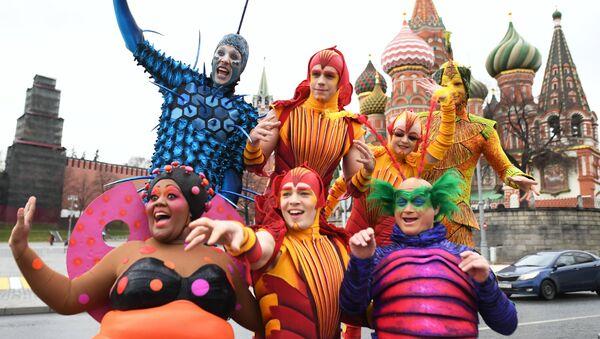 le Cirque du Soleil à Moscou - Sputnik France