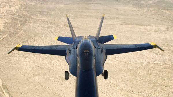 Un McDonnell Douglas F/A-18 Hornet - Sputnik France