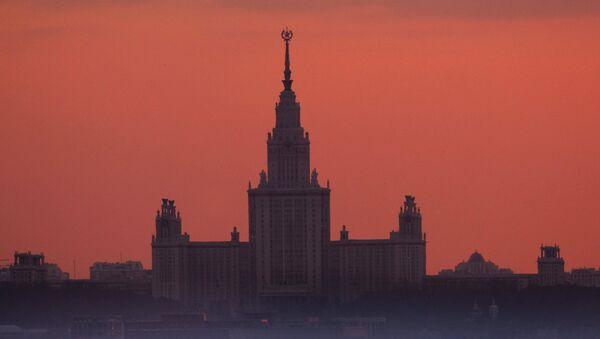 l'Université d'État Lomonossov de Moscou - Sputnik France