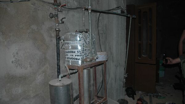 Un laboratoire d'armes chimiques à Douma - Sputnik France