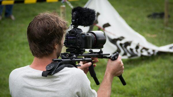 Un camarógrafo - Sputnik France