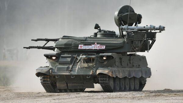 Le véhicule d'artillerie sol-air Chilka - Sputnik France