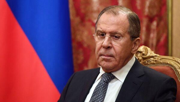 Ministro das Relações Exteriores da Rússia, Sergei Lavrov (foto de arquivo) - Sputnik France